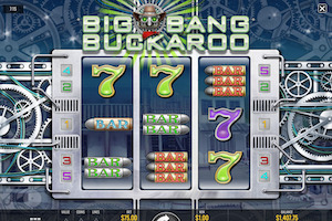 Machine à sous Big Bang Buckaroo