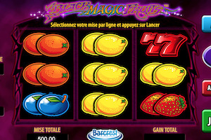 Machine à sous Black Magic Fruits