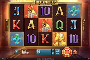Book of Gold : Double Chance