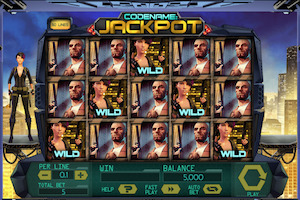 Machine à sous CodeName : Jackpot
