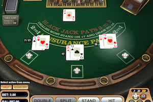 European Blackjack BetSoft