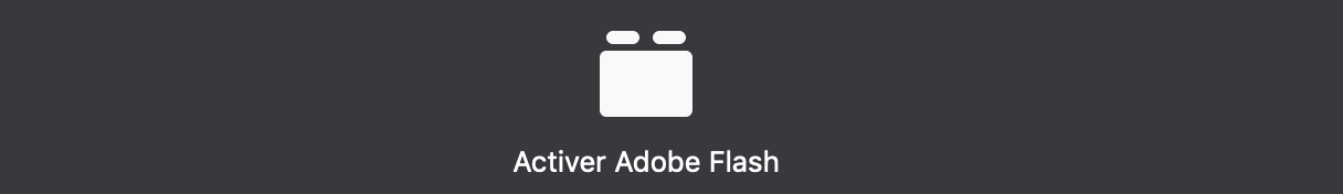 activer flash