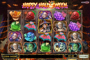 Machine à sous Happy Halloween
