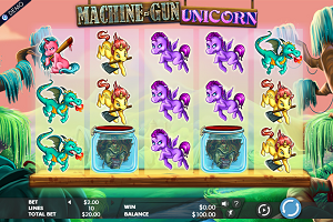 Machine Gun Unicorn
