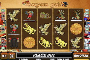 Machine à sous Mayan Gold