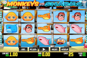 Monkeys Vs Sharks