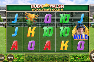 Machine à sous Ruby Walsh Champions Gold