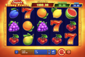 Super Sunny Fruits : Hold And Win