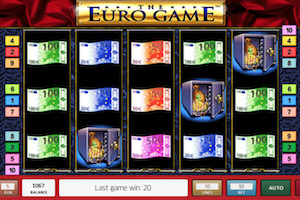 Machine à sous The Euro Game