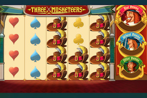 Machine à sous Three Musketeers