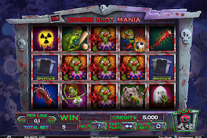 Machine à sous Zombie Slot Mania